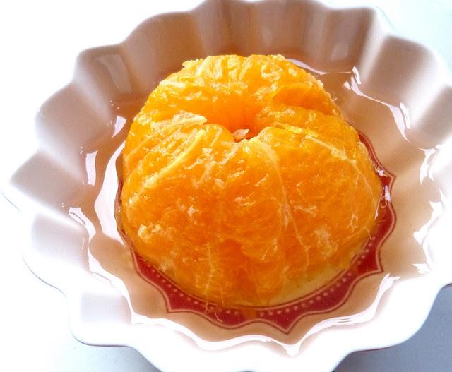 Seasonal Pleasures: Poached Mandarin Oranges
