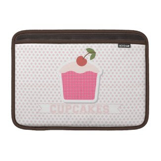 Cupcakes & Polka Dots MacBook Air Sleeve