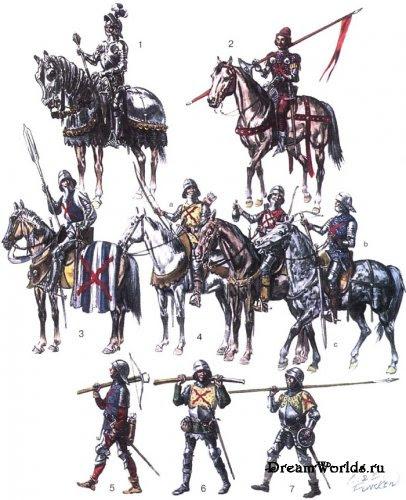 Рыцарское обмундирование в Средние века