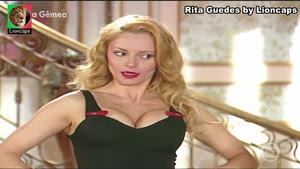 Rita Guedes sensual na novela Alma Gemea