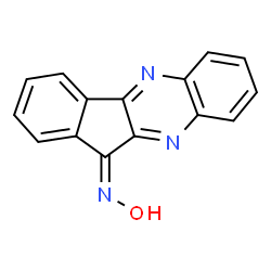 ChemSpider 2D Image | (11Z)-11H-Indeno[1,2-b]quinoxalin-11-one oxime | C15H9N3O