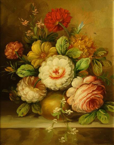 Cuadros Modernos Cuadros De Flores Y Plantas Vii Ramo De Flores En