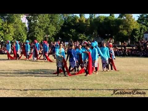 VIDEO : Dirgahayu Pramuka 56 Kolosal SMP N 1 Wonosari