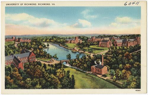 University of Richmond, Richmond, VA.