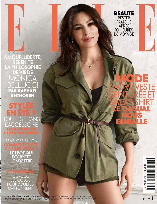 MONICA BELLUCCI for Elle Magazine, France June 2017