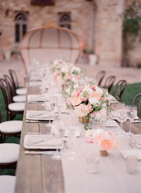 Pastel Color Wedding Inspiration by LinenTablecloth