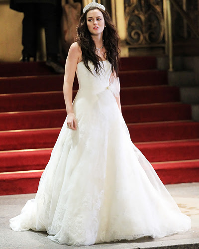 Blair Waldorf wedding dress