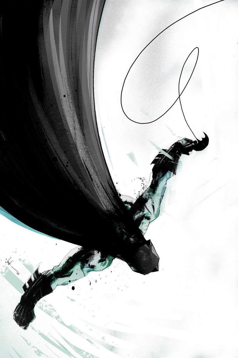 click Batman to see more comic book art