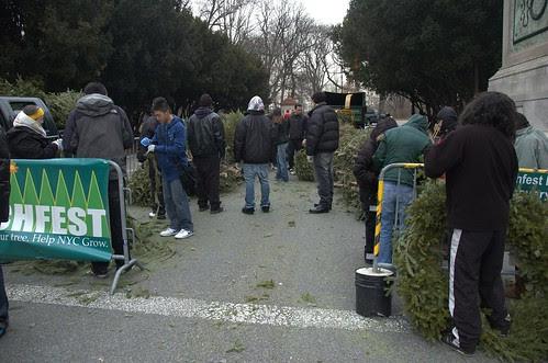 Park Circle Mulchfest 2009