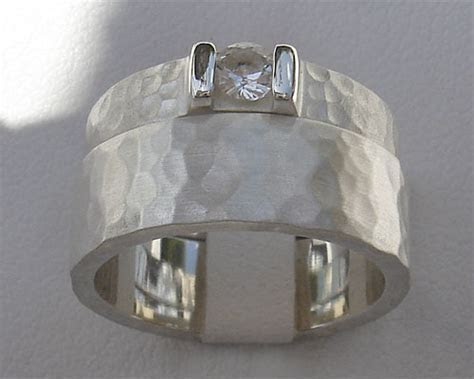 Hammered Silver Bridal Set : LOVE2HAVE in the UK!