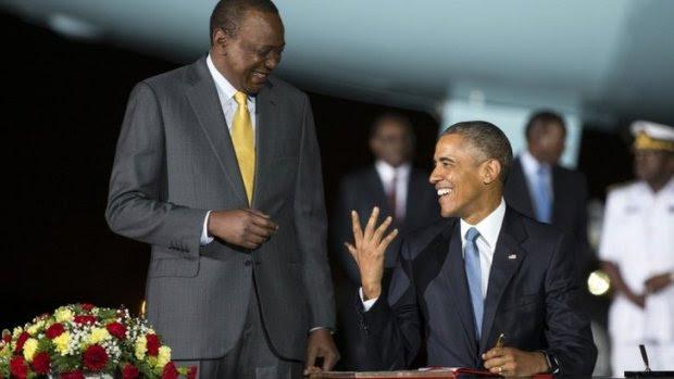 Obama and Kenyatta