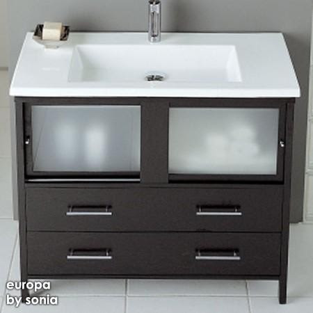 Europa Air Bathroom Vanity - contemporary - bathroom vanities and ...