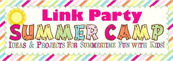 Join twenty bloggers at the Summer Camp Link Party. Featuring ideas and projects for summertime fun with kids! Link up your ideas and activities. Join the fun!