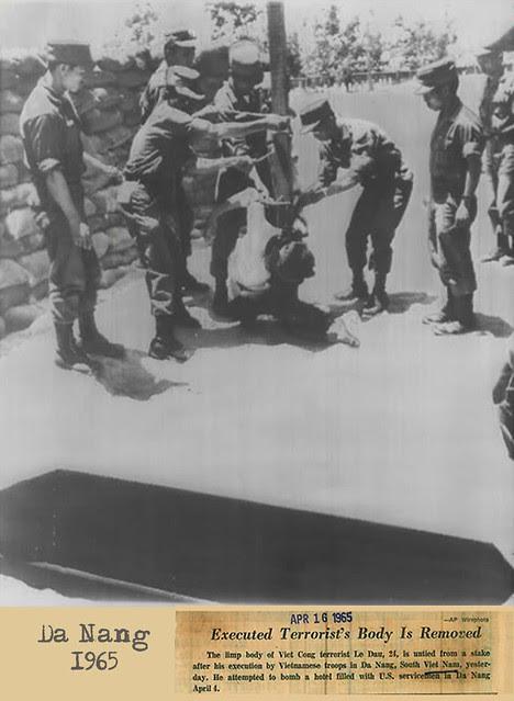 1965 Le Dau Viet Cong Terroist Executed Limp Body