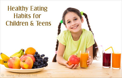 Healthy Eating Habits for Children and Teens