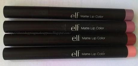 Studio Matte lip colour ELF