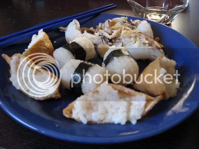 Korean Yam Cake Recipe: Comfort Food Vegan: Inari Sushi And Konnyaku Yam Noodles