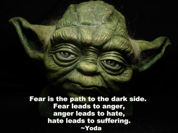Follow The Fear How To Harness The Dark Side Of The Force Train Deep