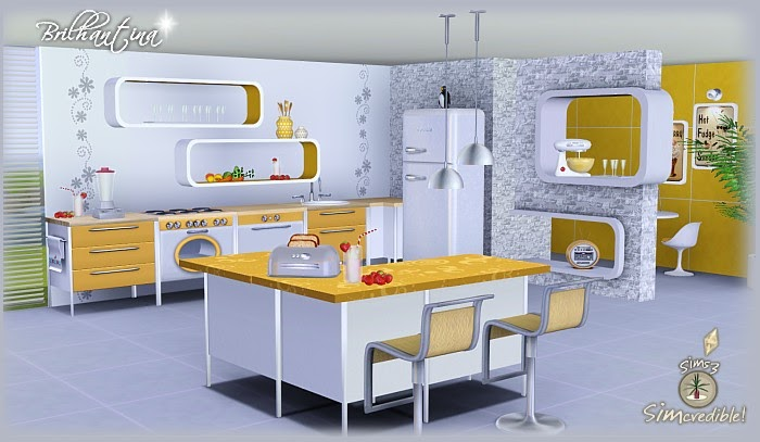 Emma 39 s simposium 5 room sets by simcredible designs 45 for Sims 2 kitchen ideas