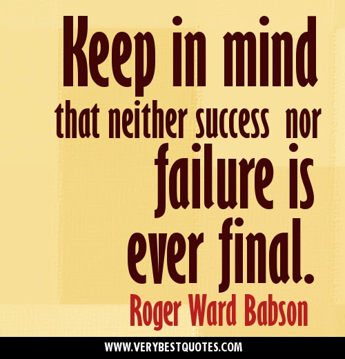 Motivational Quotes About Success Failure