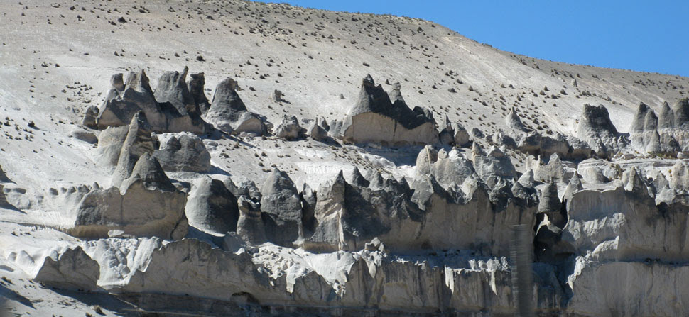 volcanic ash formations