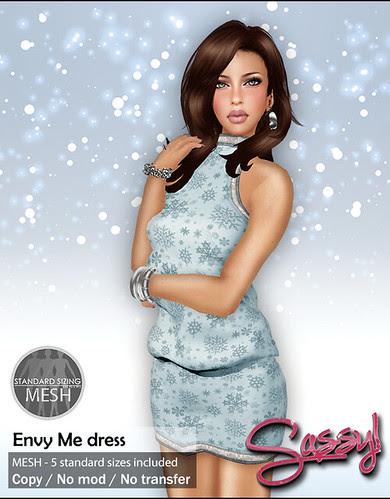 Envy Me dress @ Flawless 12 days of Xmas
