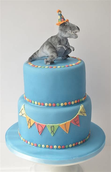 T Rex cake homemade in Geneva   Petra Cakes