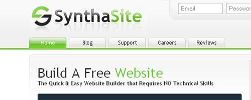 SynthaSite-Free Website & Hosting