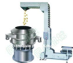 Stainless steel herbal medicine rotary vibration filter screening machine