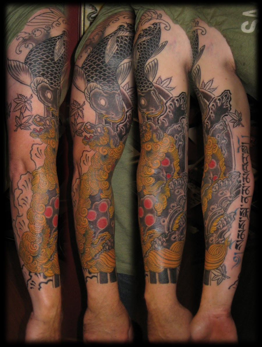 Lion Sleeve Tattoo Tattoomagz