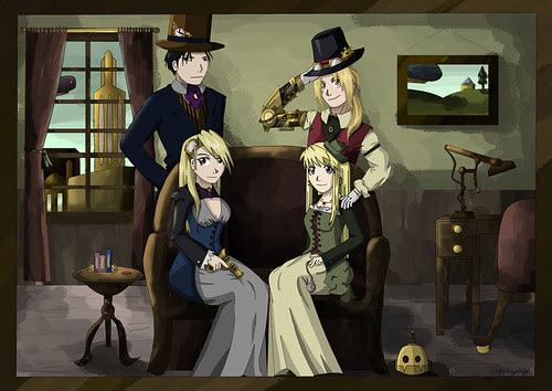 Steampunk In Anime