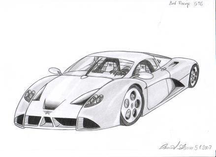 Auto Frum Racing on Ein Paar Meiner Zeichnungen  Alle Autos Die Den Namen Bird Tragen Sind
