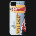 Miss Lace B-24 Nose Art (Vintage Fuselage) iPhone 5 Cover