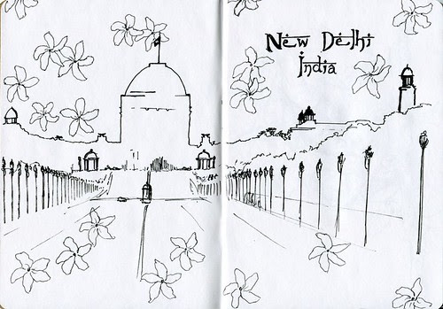 New Delhi by teshionx