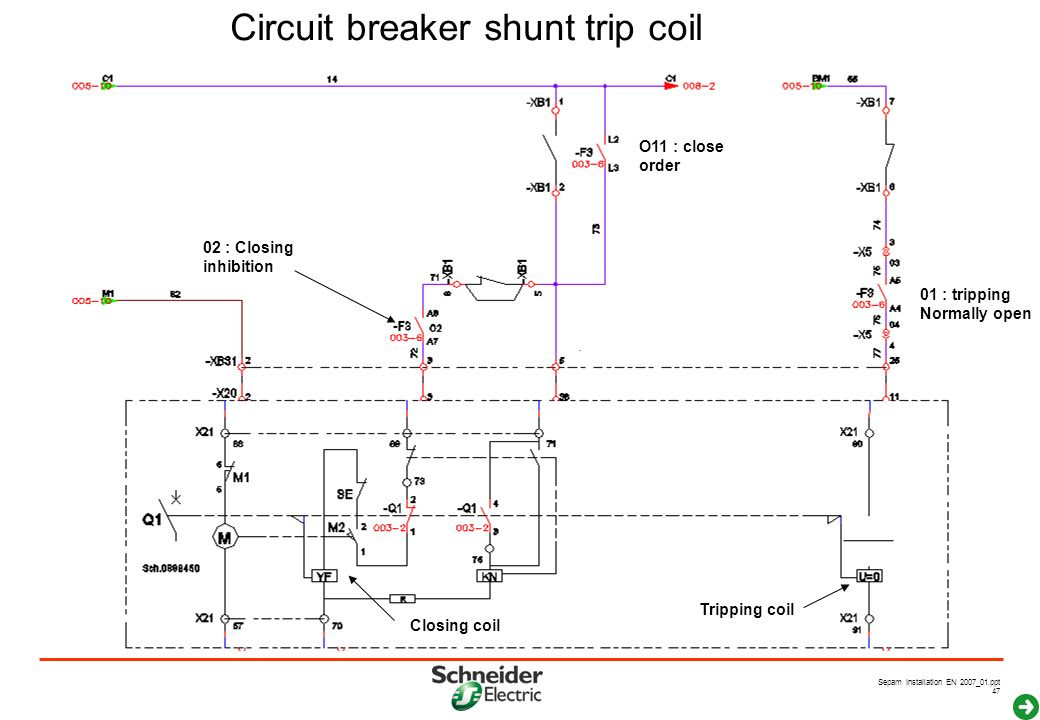 34 How To Wire A Shunt Trip Breaker Wiring Diagram