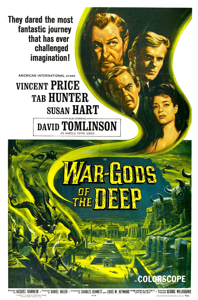 Reynold Brown - War Gods of the Deep (American International, 1965)