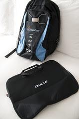 Inner-Bag and JavaOne Backpack, JavaOne 2011 San Francisco