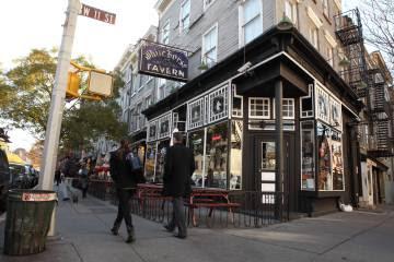 Exterior de la White Horse Tavern, en el Greenwich Village de Manhattan (Nueva Yok).
