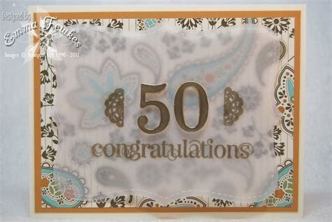 Lady & the Stamp: 50th Wedding Anniversary