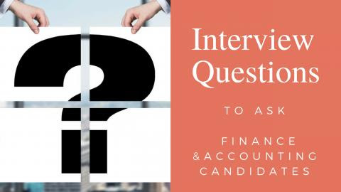 Interview Questions to Ask Accounting Applicants | Robert Half