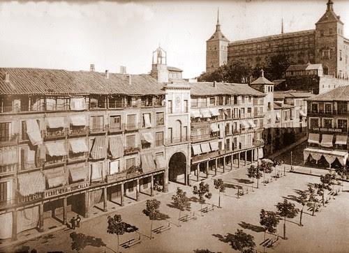 Zocodover antes de la Guerra Civil