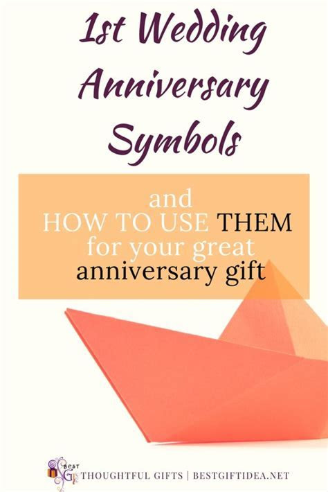 Best Gift Idea First Wedding Anniversary   How To