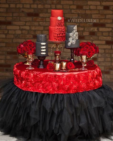 Stylish Wedding Cake Table Ideas Archives   Weddings
