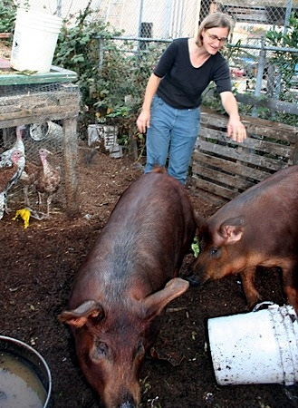 Urban Farming in Oakland: City Slickers Fundraiser features Novella Carpenter