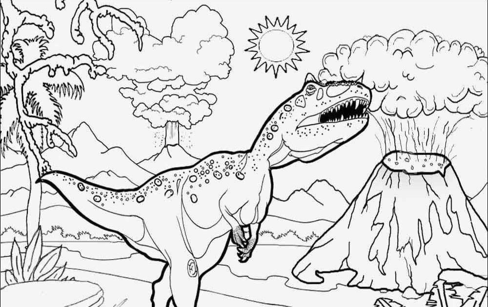 malvorlage dinosaurier t-rex : t-rex ausmalbild
