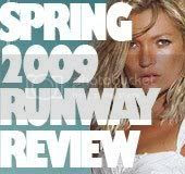 spring 2009 runway review