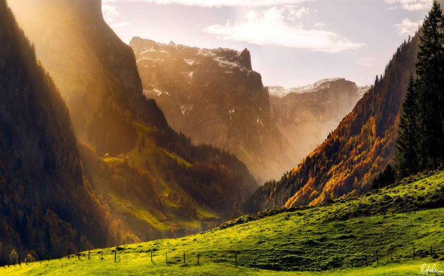 Ελβετικές Άλπεις (το φθινόπωρο)