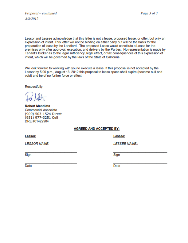 Lease Proposal Letter Sample from lh5.googleusercontent.com