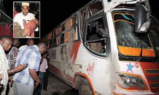 An explosion ripped through a bus station in Mombasa, Kenya