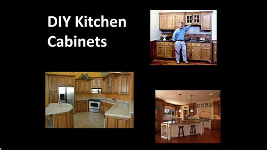 How to build your own Kitchen Cabinets | PopScreen